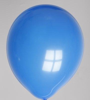 """100st Pastel Ballonnen 12"""" Cobalt-044"""