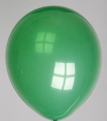 """100st Pastel Ballonnen 12"""" D.Groen-055"""