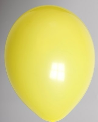 """10st Pastel Ballonnen 12"""" Geel-581"""