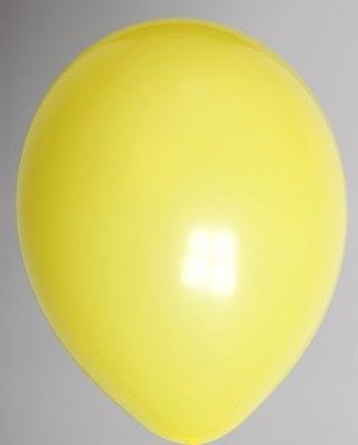 """100st Pastel Ballonnen 5"""" Geel-041"""