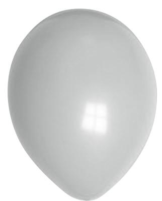 """100st Pastel Ballonnen 12"""" Grijs-098"""