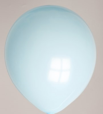 "100st Pastel Ballonnen 5"" L.Blauw-042"