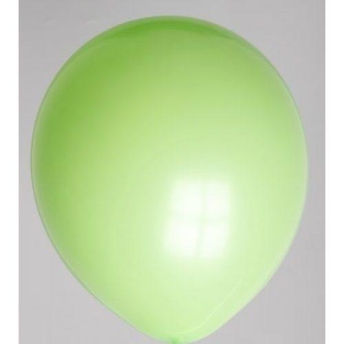 "100st Pastel Ballonnen 12"" Lime-065"