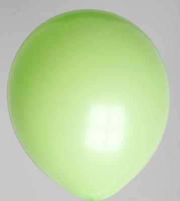 "10st Pastel Ballonnen 12"" Lime-065"