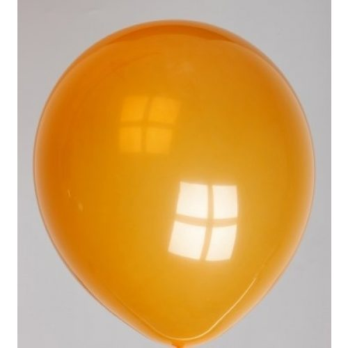 "10st Pastel Ballonnen 12"" Oranje-047"