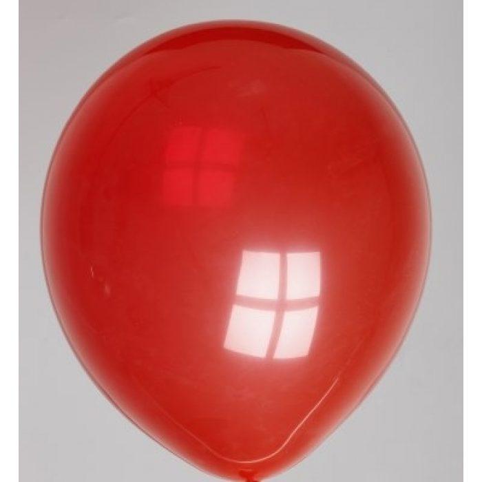 """10st Pastel Ballonnen 12"""" Rood-058"""