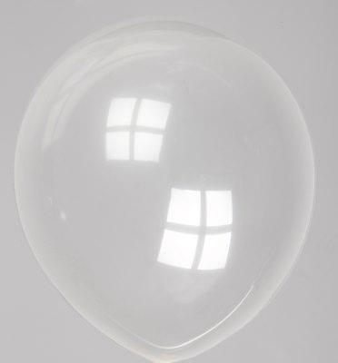 """10st Pastel Ballonnen 12"""" Transp-057"""