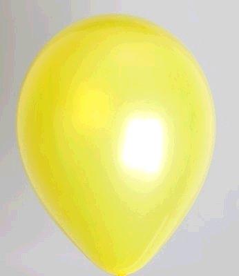 """100st Pearl Ballonnen 5"""" Geel-021"""
