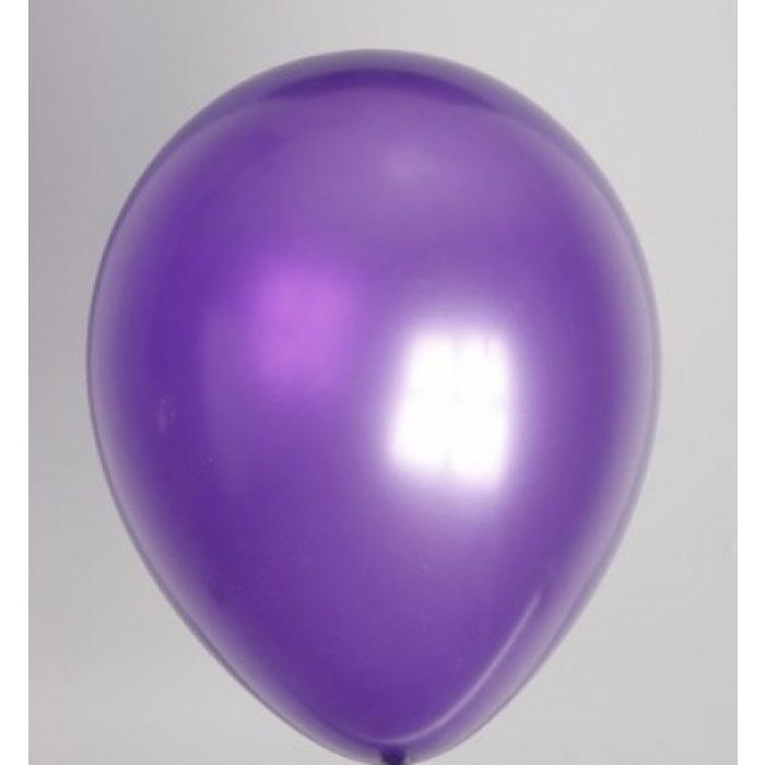 """10st Pearl Ballonnen 14"""" Paars-023"""