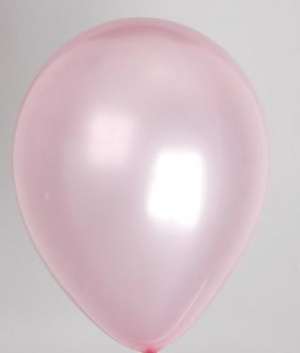 """10st Pearl Ballonnen 14"""" Roze-073"""