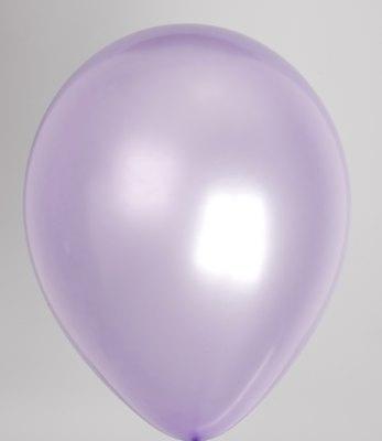 "10st Pearl Ballonnen 14"" Violet-076"