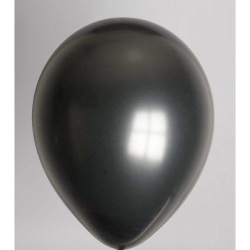 """10st Pearl Ballonnen 14"""" Zwart-030"""