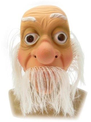 Plastic Masker Abraham met Haar