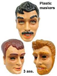 Plastic Masker Mooie Man Assorti