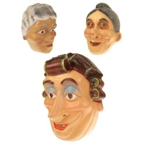 Plastic Masker Oma Assorti