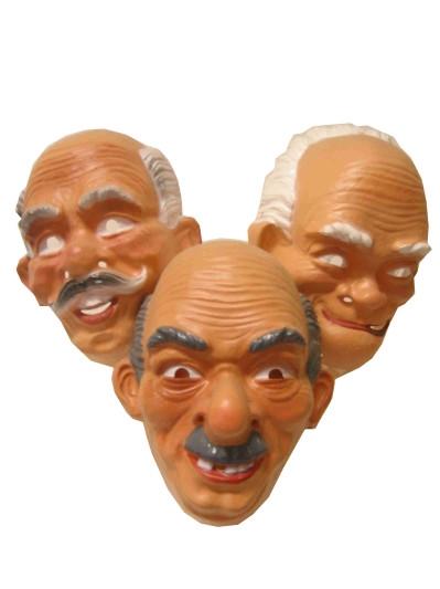 Plastic Masker Opa Assorti