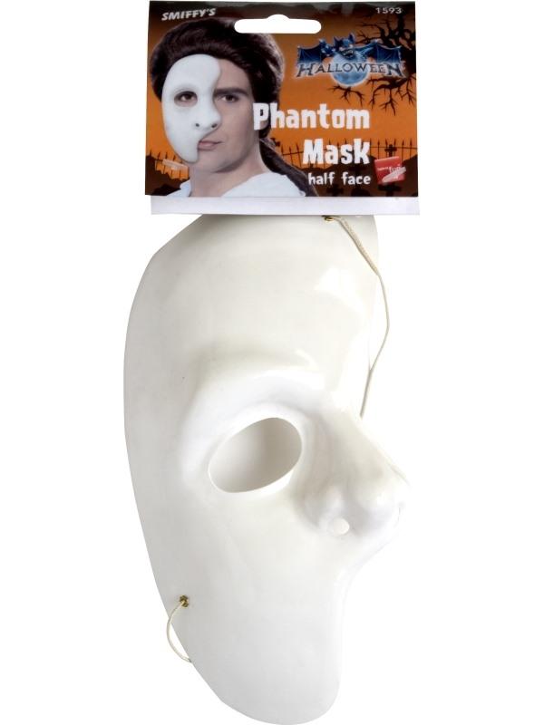 Plastic Masker Phantom Half Gezicht