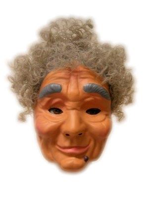 Plastic Masker Sarah met Haar