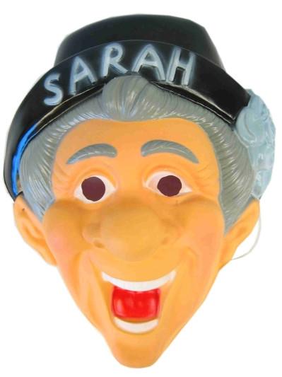 Plastic Masker Sarah met Hoed