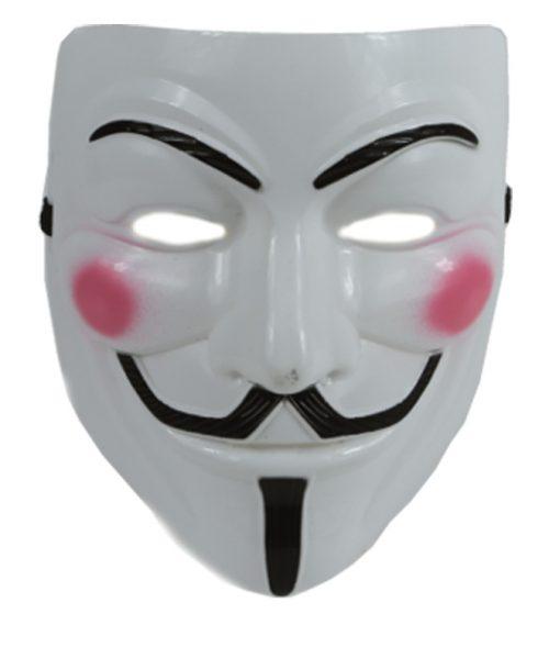 Plastic Masker Vendetta/Guy Fawkes Budget