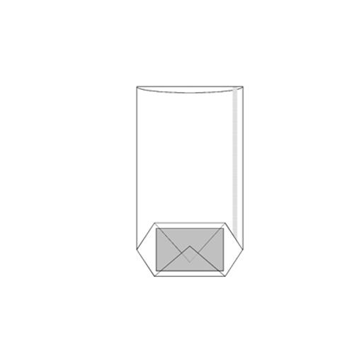 100st Plastic Verpakzakjes 5.5x4x22cm