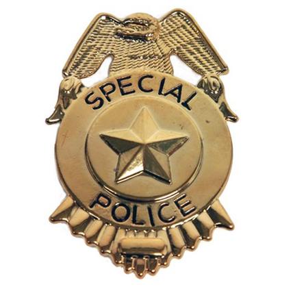 Politie Badge Metaal ''Special Police''