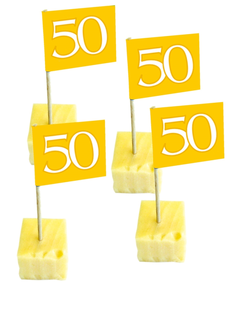 50st Prikkertjes 50jaar Goud