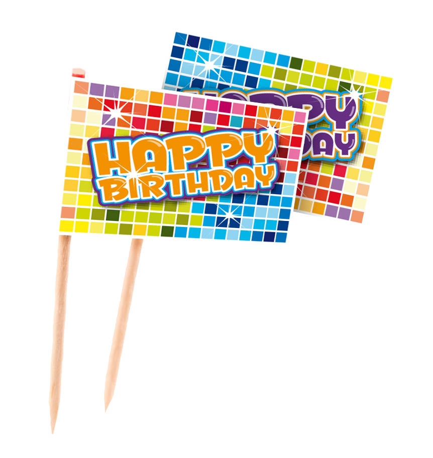 24st Prikkertjes Happy Birthday