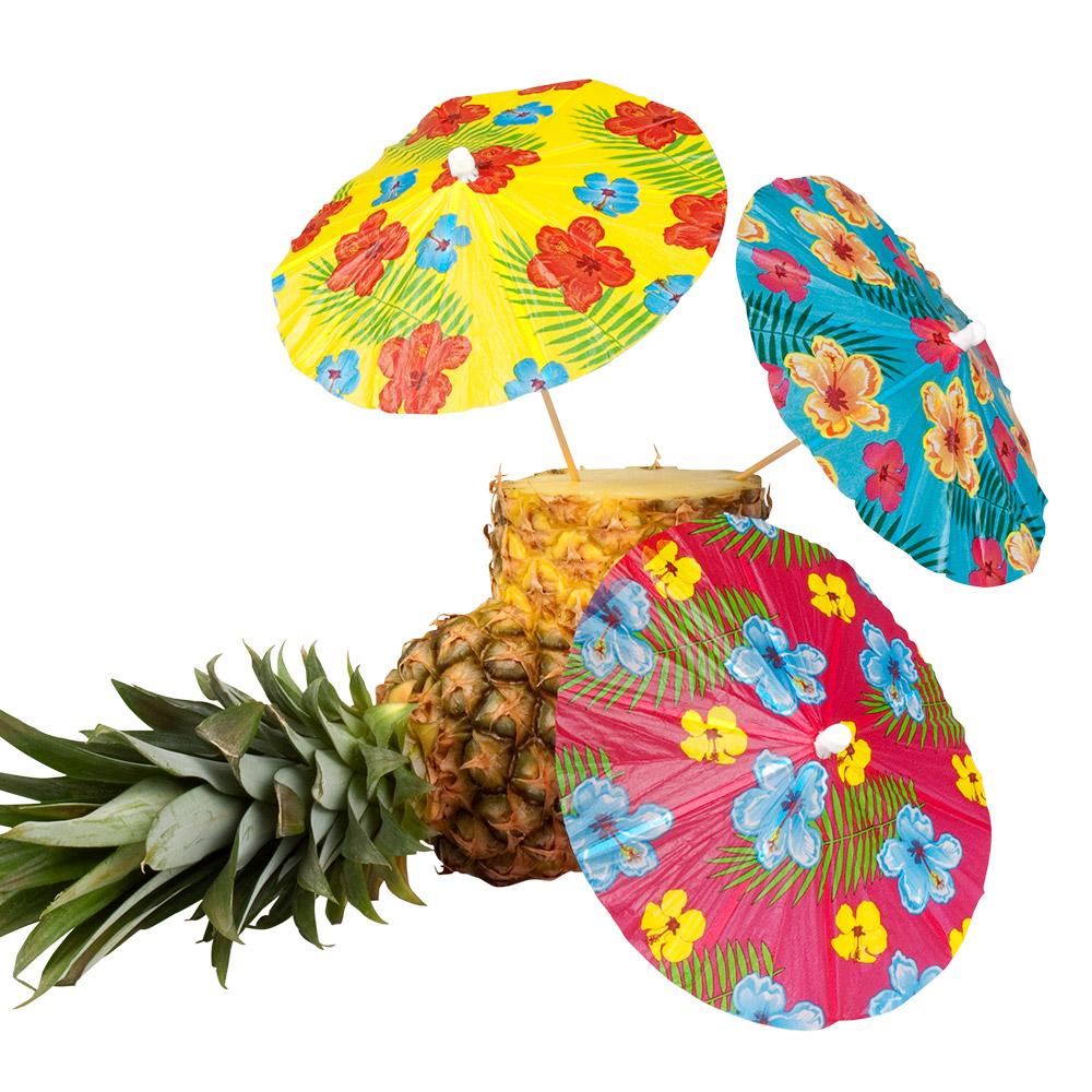 6st Prikkertjes Parasols Hawai Aloha