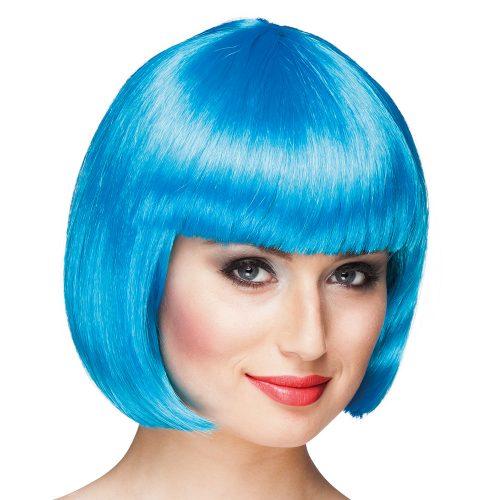 Pruik Bobline Cabaret Icy Blue