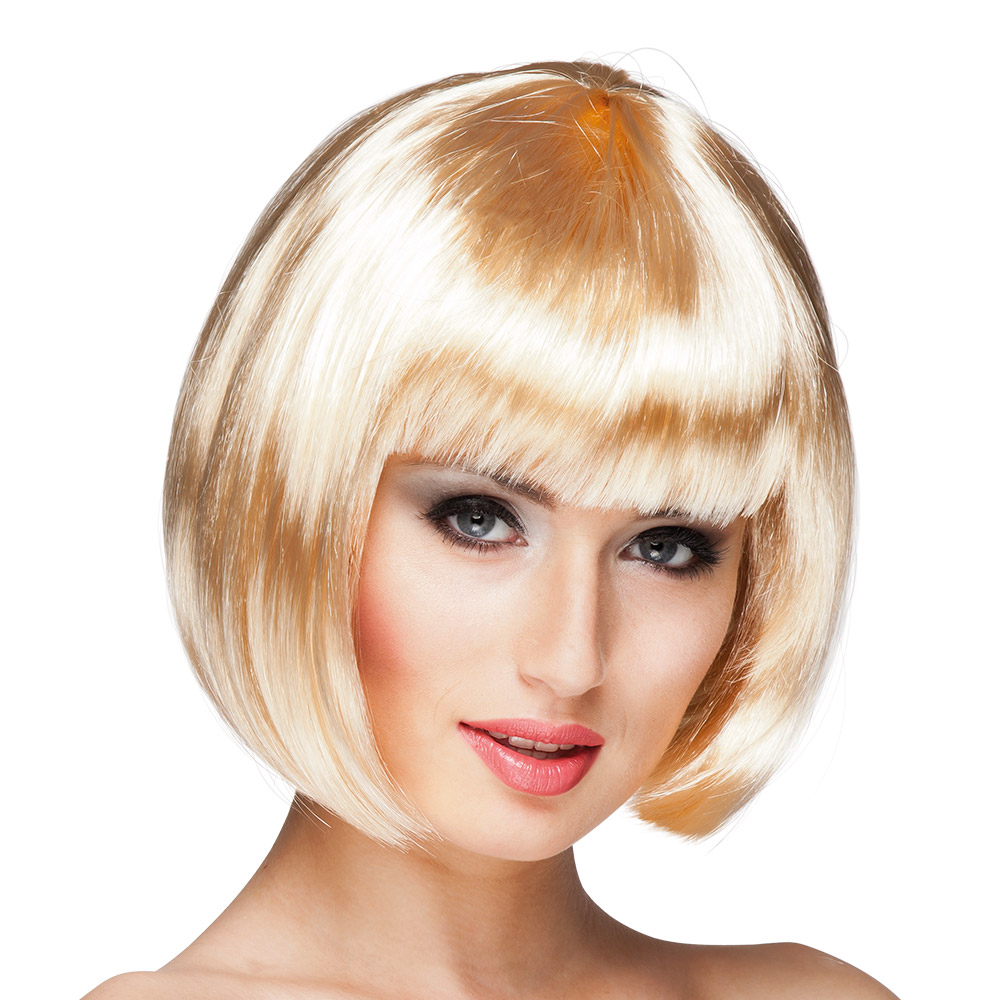 Pruik Bobline Cabaret Blond