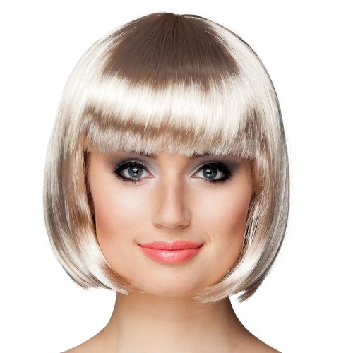 Pruik Bobline Cabaret Platinum Blond