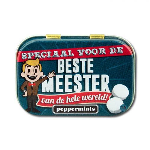 Retro Mints Beste Meester