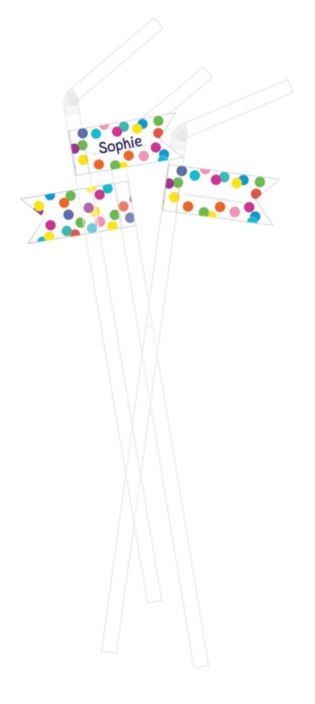 10st Rietjes Confetti