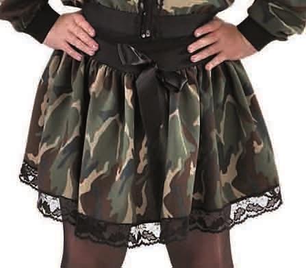 Rokje Camouflage Meisje