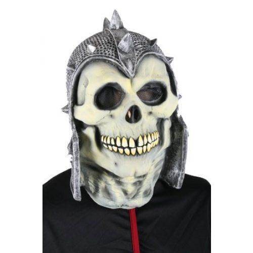 Rubber Masker Doodskop met Helm