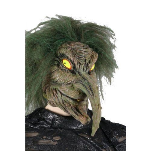 Rubber Masker Horror Heks Groen