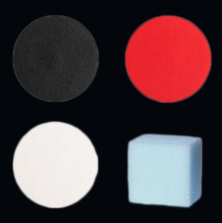 Schminkset Rood/Zwart/Wit, Spons