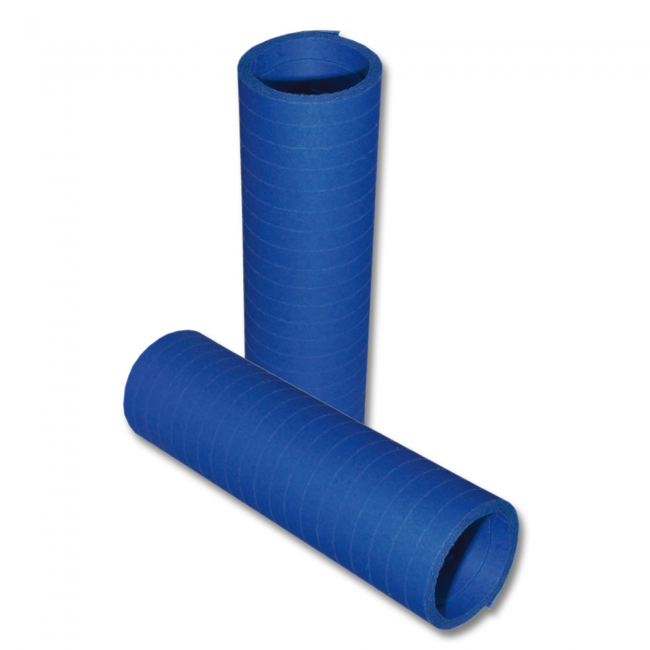Serpentines Blauw Brandvertragend 20x4m