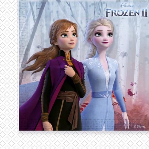 20st Servetten Frozen II 33x33cm