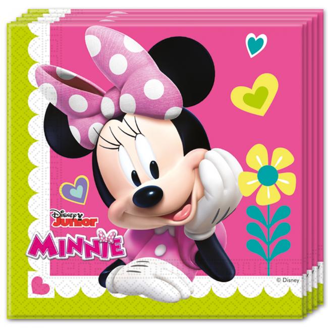 20st Servetten Minnie Mouse 33x33cm