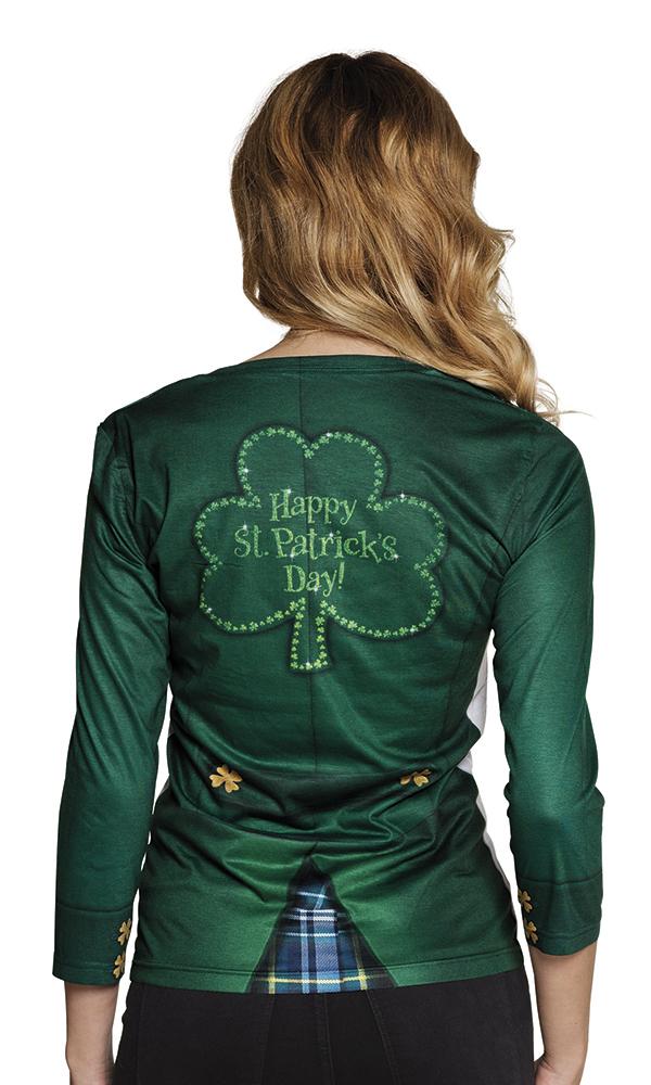 Fotoprint Shirt Irish Dames Mt.M