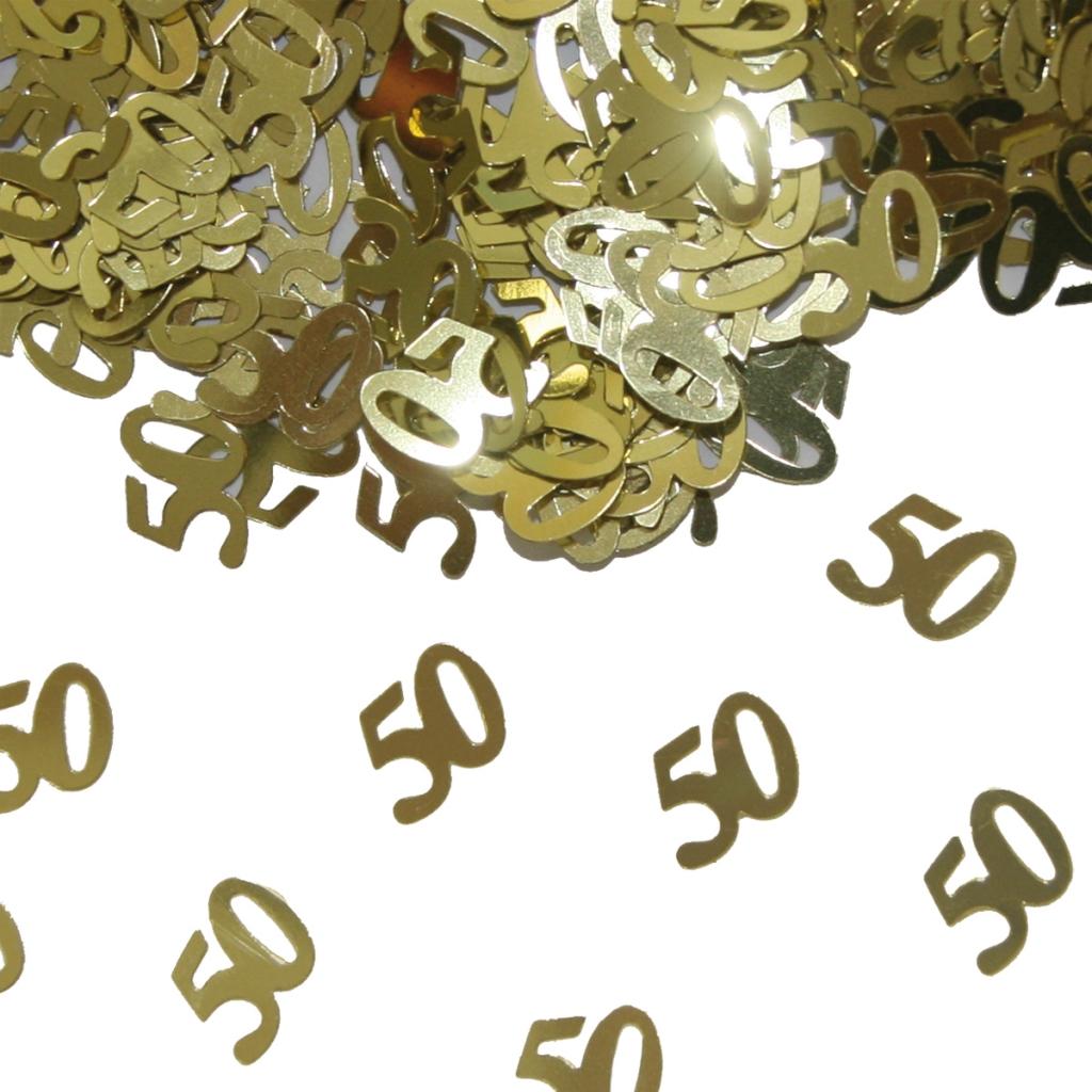 Sier-Confetti 50 Goud 15gram