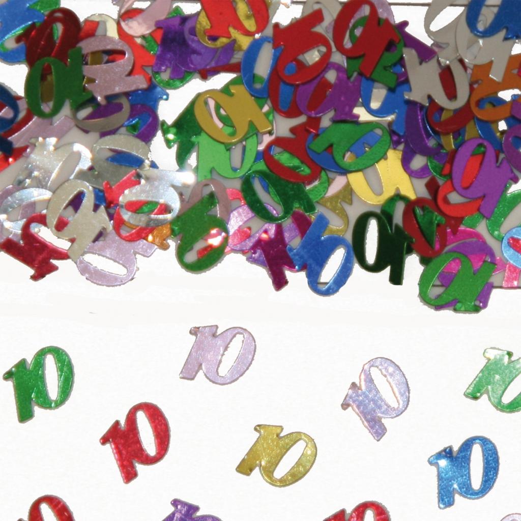 Sier-Confetti Multicolor 10 15gram