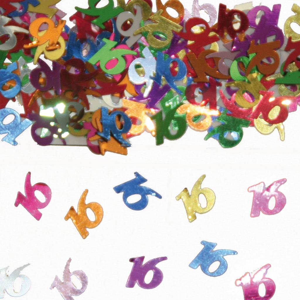 Sier-Confetti Multicolor 16 15gram