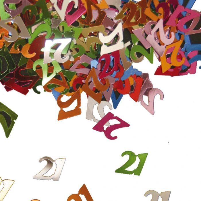 Sier-Confetti Multicolor 21 15gram