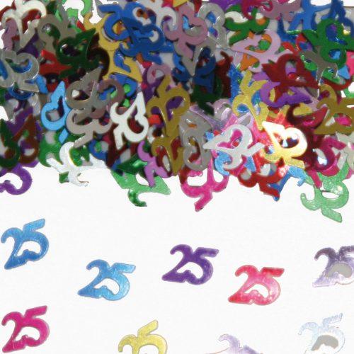 Sier-Confetti Multicolor 25 15gram