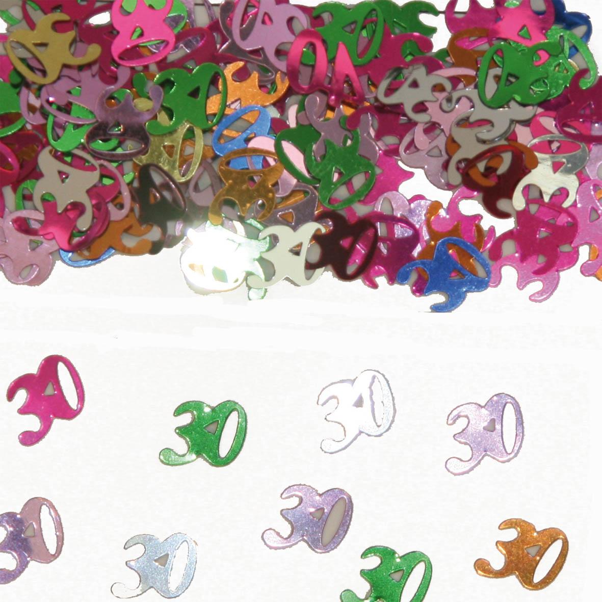 Sier-Confetti Multicolor 30 15gram