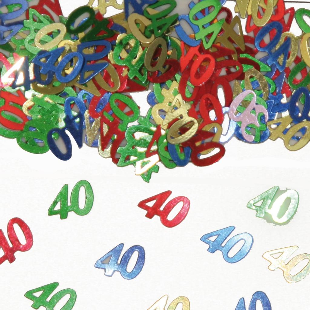 Sier-Confetti Multicolor 40 15gram