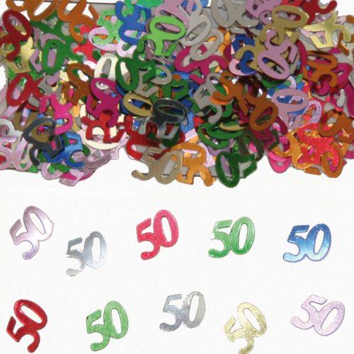 Sier-Confetti Multicolor 50 15gram